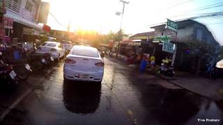 Roi Et Thailand  city photo : Gopro, Songkran 2016 Roi-Et Thailand, First day with my motorcycle