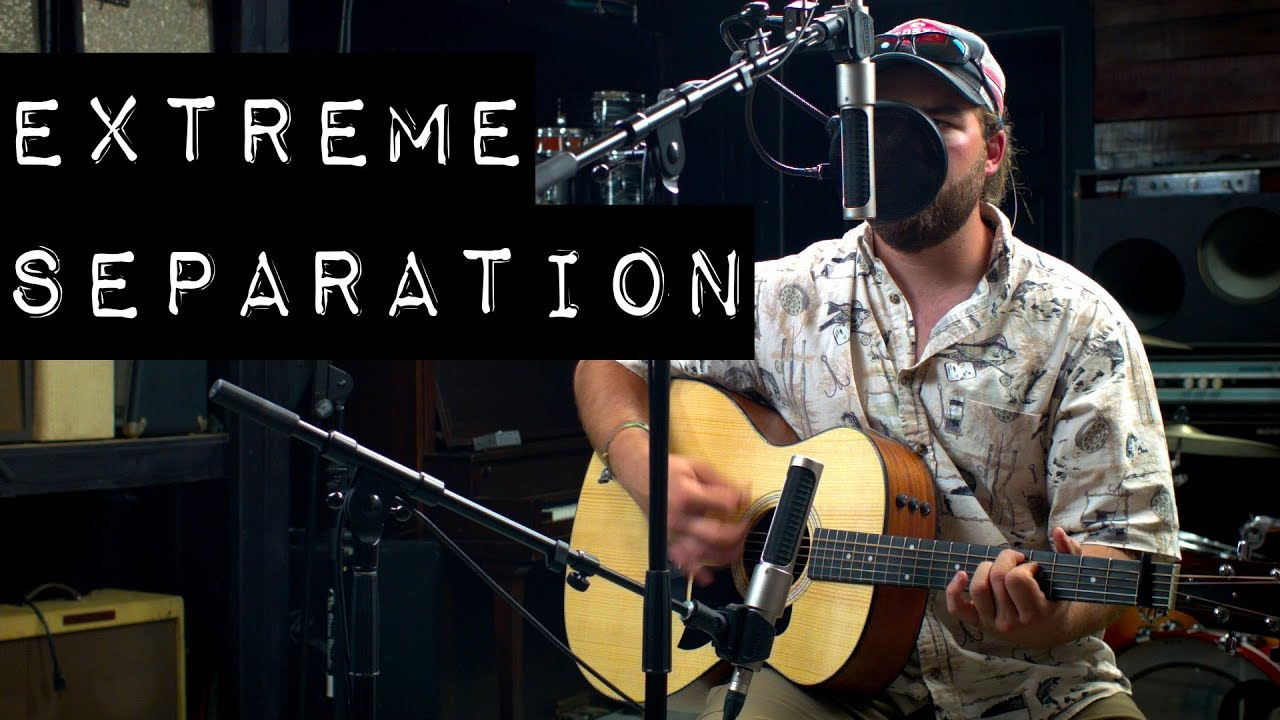 Singers that Play Guitar – Get Extreme Separation of Vocal and Acoustic