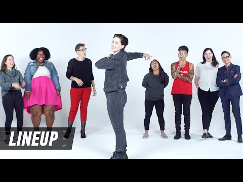 Lesbians Decide Who's the Gayest | Lineup | Cut
