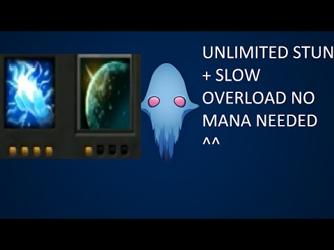 Dota 2 Ability Draft Unlimited Overload + Slow 90 DMG