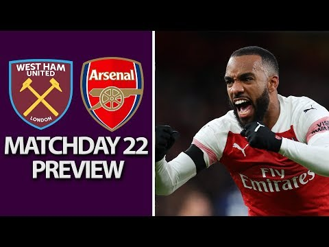 Video: West Ham v. Arsenal | PREMIER LEAGUE MATCH PREVIEW | 1/12/19 | NBC Sports
