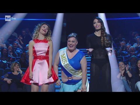 Video Miss'Illude - Fatima Trotta, Elisabetta Gregoraci e Rosaria Miele - Made in Sud 03/05/2017 download in MP3, 3GP, MP4, WEBM, AVI, FLV January 2017