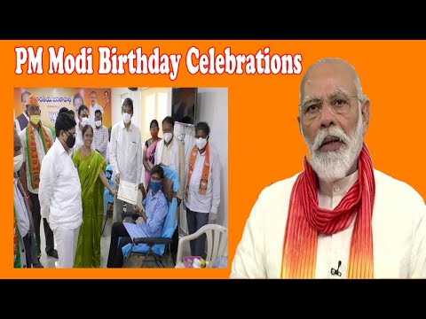 PM Modi Birthday Celebration In Visakhapatnam,Vizagvision In Visakhapatnam,Vizagvision