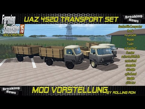 UAZ 452D Transport Set v1.05