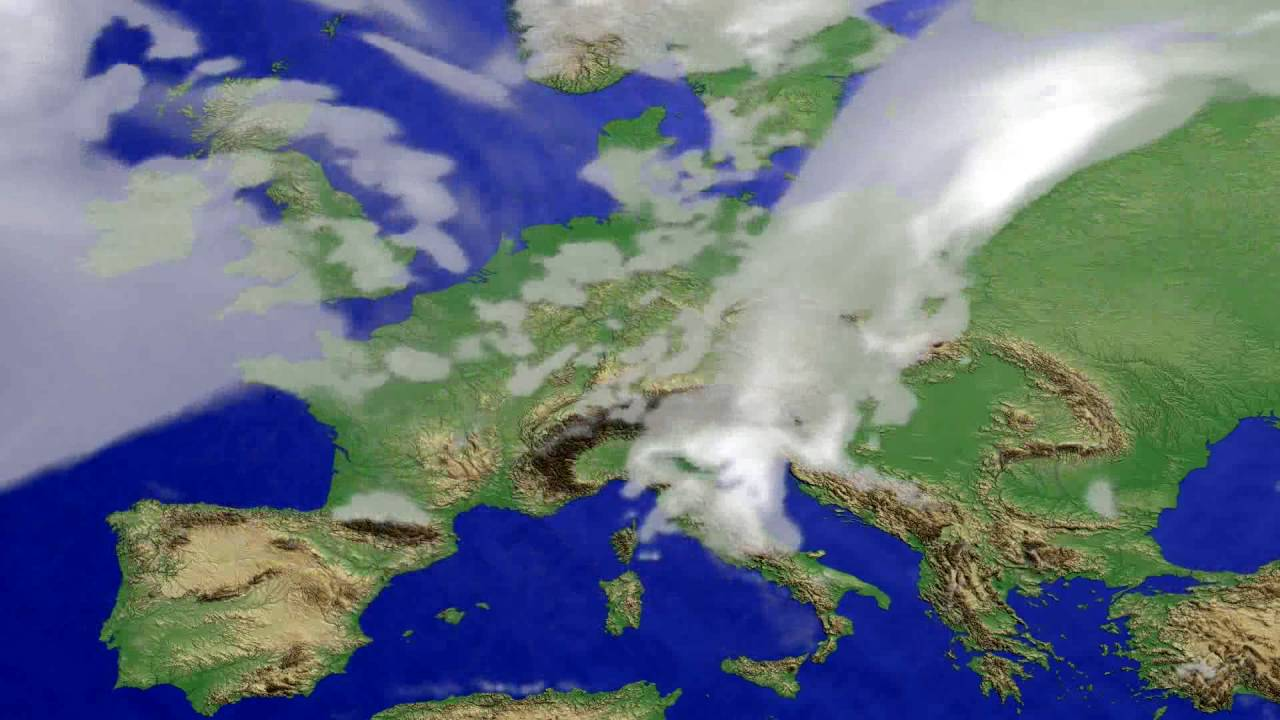 Cloud forecast Europe 2016-08-02