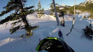 5. 2019 Arctic Cat Alpha One 165 - GGB Mountain Can Exhaust 1st Day