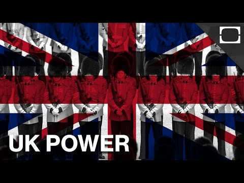 UK - The United Kingdom once ruled a fourth of the entire world's population, but where does it stand on the power scale today? Subscribe! http://bit.ly/1BbWEvB T...