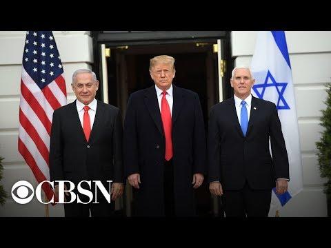 President Trump meets with Israeli Prime Minister Netanyahu, live stream