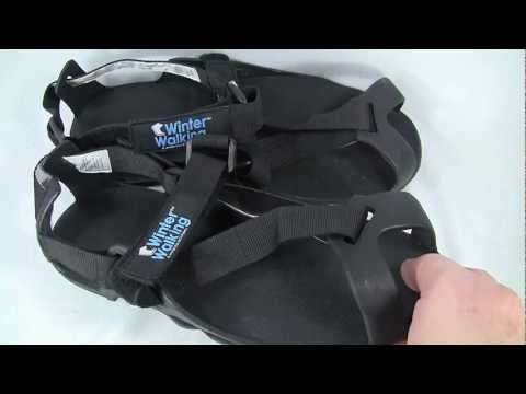 Icegrips Heavy Duty Ice Cleats Demo and Review