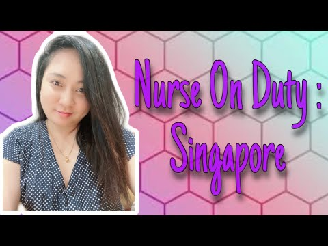 Nurse on Duty... in Singapore 🥰