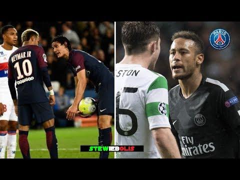 Neymar Jr ⚽ Best Fights & Angry Moments - PSG ⚽ 2017\2018 ⚽ HD #Neymar