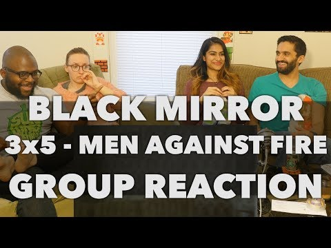 React Wheel: Black Mirror - 3x5 Men Against Fire - Group Reaction + Wheel Spin!