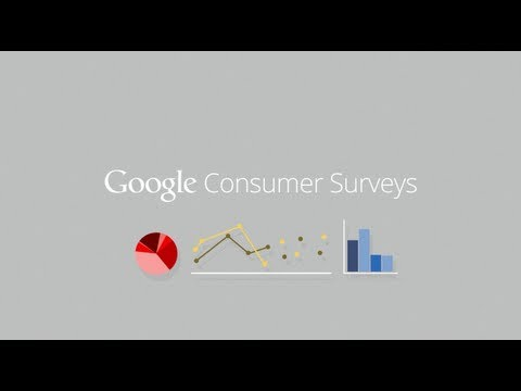 Image of Google Introducing Google Consumer Surveys