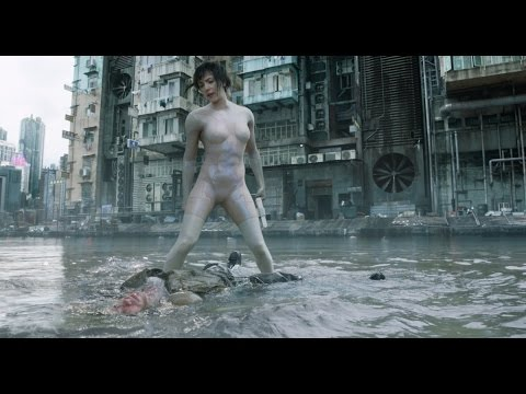 Ghost in the Shell (Clip 'Water Fight')