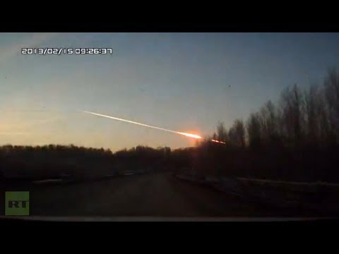 Meteorite crash in Russia Video of meteorite explosion that stirred panic in Urals