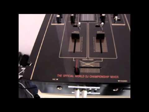 custom Technics SH-DJ1200 + innofader pro + innojuster