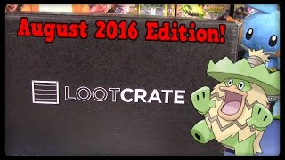 August LootCrate Unboxing! Anti-Hero Themed! by Master Jigglypuff and Friends