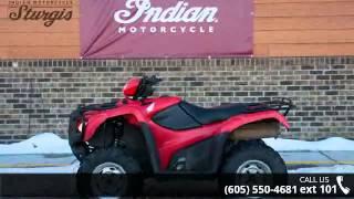 9. 2013 Honda FourTrax Foreman 4x4  - Indian Motorcycle Stur...