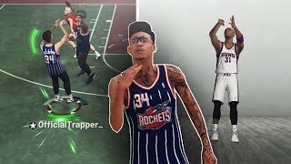 shooting with the ugliest jumpshot in nba 2k history.. It's actually wet🤷🏽♂️