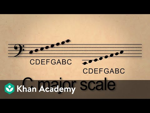 Lesson 5 C Major Scale In Bass Clef And Reading In Bass Clef Video