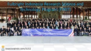 Fulbright Indonesia Research Science And Technology Program (FIRST) - USA [150415]
