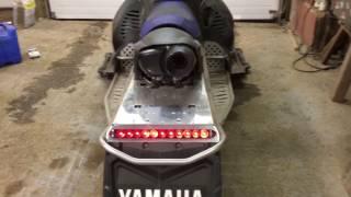 10. 2009 Yamaha Nytro XTX Startup