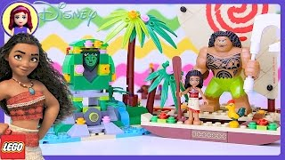 Video LEGO Disney Moana's Ocean Voyage Build Review Silly Play - Kids Toys MP3, 3GP, MP4, WEBM, AVI, FLV Maret 2018