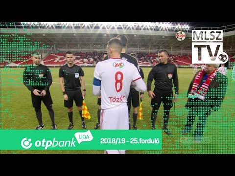 25. forduló: DVSC - DVTK 1-0 (1-0)