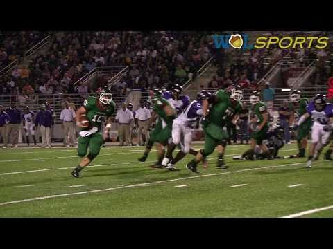 The Woodlands Highlanders vs. Lufkin High School Football Highlights, 2010