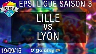 Lille vs Lyon - EPSI Ligue S3 - Demi-finale 2