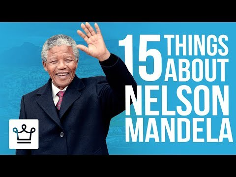 15 Things You Didn't Know About Nelson Mandela