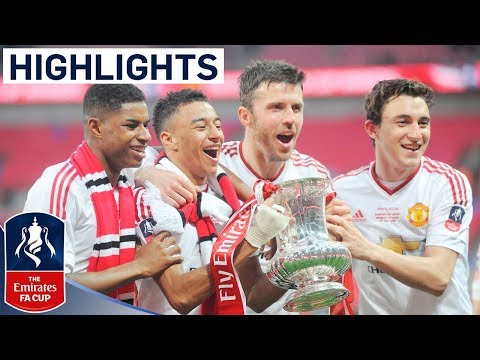 Crystal Palace 1-2 Manchester United (2015/16 Emirates FA Cup Final) | Goals & Highlights