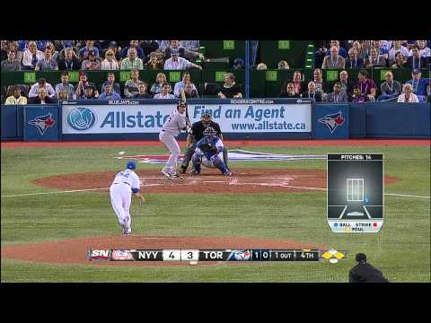 BLUE JAYS HOME OPENER - April 04, 2014 (видео)