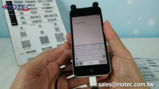 Mobile Barcode Scanner - 1D GodaScan iDC9277A/DC9277A youtube video