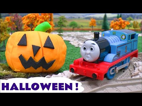 Tom - Thomas The Tank Engine Halloween Ghost Play Doh compilation of videos. We thought we'd bring all our Halloween themed videos together in one. Please excuse t...