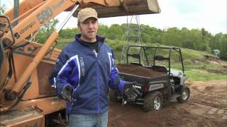 4. Dirt Trax Test Rides 2009 Polaris Ranger HD
