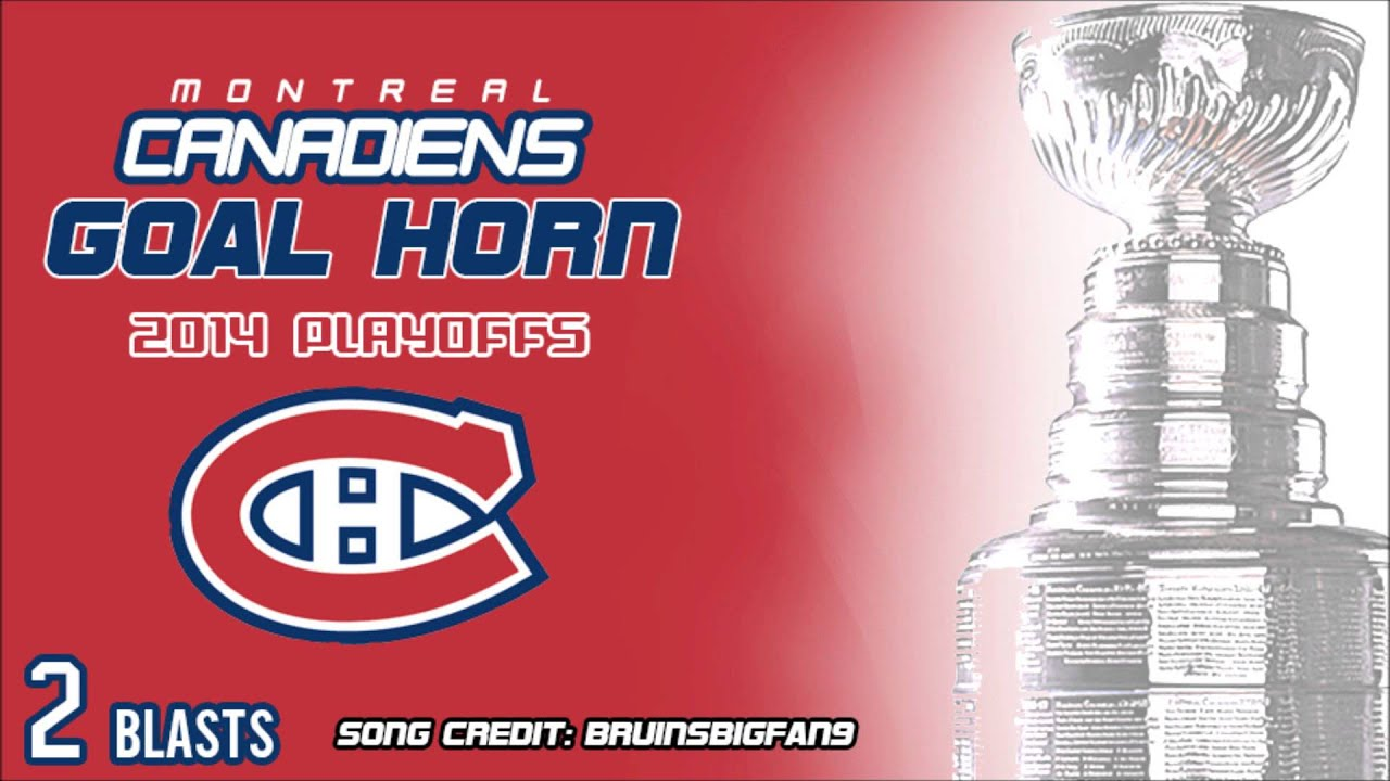 Montréal Canadiens 2014 Playoff Goal Horn (2 BLASTS)