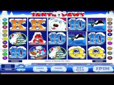 Santa Paws ™ free slots machine game preview by Slotozilla.com