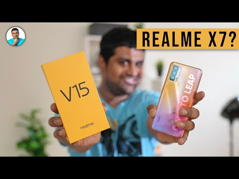 Realme V15 (Realme X7 India?) - Unboxing & Hands On!