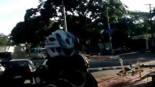 Bisiklet Yoluna Parkeden Aracı Bakın Ne Yaptı?