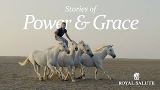 Facu Pieres en historias de poder y gracia, spot de Royal Salute