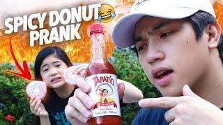 Video Spicy Donut Prank On Sister! | Ranz and Niana MP3, 3GP, MP4, WEBM, AVI, FLV Februari 2019