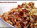 Sprouted Horsegram recipe/kulthi