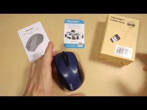 ~Review~ TeckNet 2.4Ghz Wireless Mouse. Tested to 25Ft Range!!