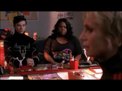 Glee   Kurt and Mercedes want to help Sue find a new look 1x15 (видео)