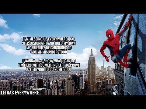Nerd Out - Spiderman Homecoming Song 'Head in the Clouds' (Lyrics)