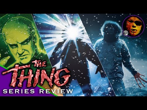 "Dr. Wolfula - ""The Thing"" Film Series Review! (1951, 1982, 2011)"