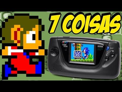 7 COISAS SOBRE O GAME GEAR CURIOSIDADES DE CONSOLES