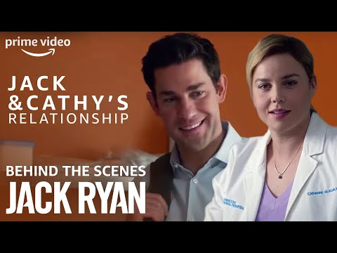 Exclusive BTS: Jack and Cathy's Relationship status | Tom Clancy's Jack Ryan | Prime Video