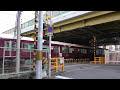 【踏切】阪急国道423号線下踏切 阪急京都線 十三~南方